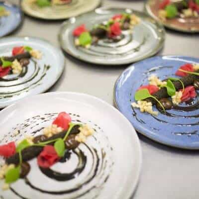 Fine dining ethical catering